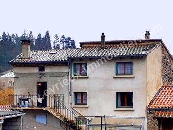 Vente Maison 4 pièces 90m² Les Ollières-sur-Eyrieux (07360) - photo