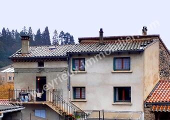 Vente Maison 4 pièces 80m² Les Ollières-sur-Eyrieux (07360) - photo