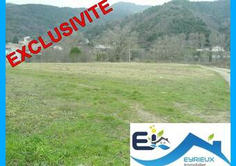 Vente Terrain 1 005m² Saint-Fortunat-sur-Eyrieux (07360) - photo