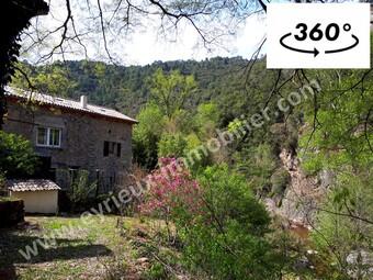 Vente Maison 8 pièces 230m² Saint-Fortunat-sur-Eyrieux (07360) - photo