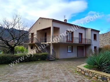 Sale House 5 rooms 110m² Saint-Fortunat-sur-Eyrieux (07360) - photo