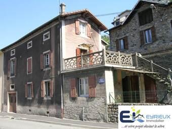 Vente Maison 6 pièces 79m² LE CHEYLARD - photo