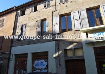 Vente Immeuble 560m² Vernoux-en-Vivarais (07240) - photo