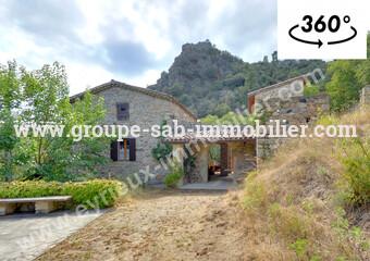 Vente Maison 7 pièces 170m² Dunieres-Sur-Eyrieux (07360) - photo
