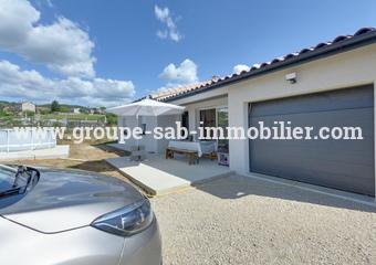 Vente Maison 4 pièces 94m² Saint-Symphorien-sous-Chomérac (07210) - photo