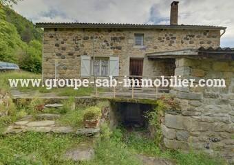 Sale House 3 rooms 60m² Proche St Martin de Valamas - photo