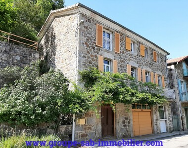 Vente Maison 6 pièces 149m² Saint-Pierreville (07190) - photo