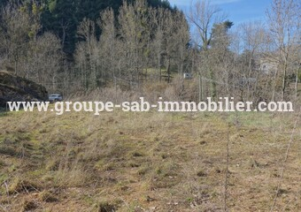 Sale Land 2 285m² Saint-Martin-de-Valamas (07310) - photo