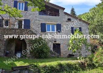Vente Maison 5 pièces 115m² Les Ollières-sur-Eyrieux (07360) - photo