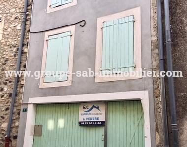Vente Maison 3 pièces 60m² Meysse (07400) - photo