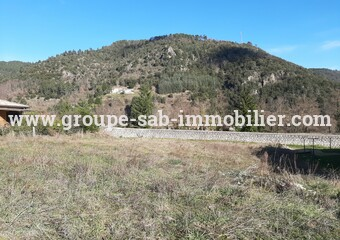Sale Land 612m² Saint-Sauveur-de-Montagut (07190) - Photo 1