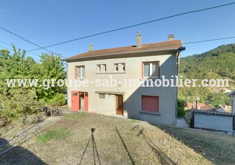 Sale House 5 rooms 94m² Le Cheylard (07160) - Photo 1